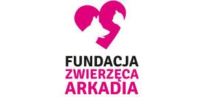 logo fundacji zwierzęca arkadia