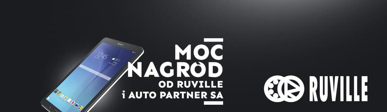 Moc nagród od RUVILLE i Auto Partner SA
