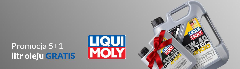 Promocja 5+1 - litr oleju GRATIS