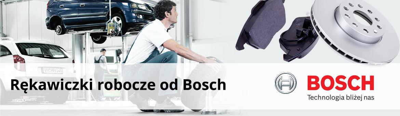 Rękawiczki robocze od Bosch