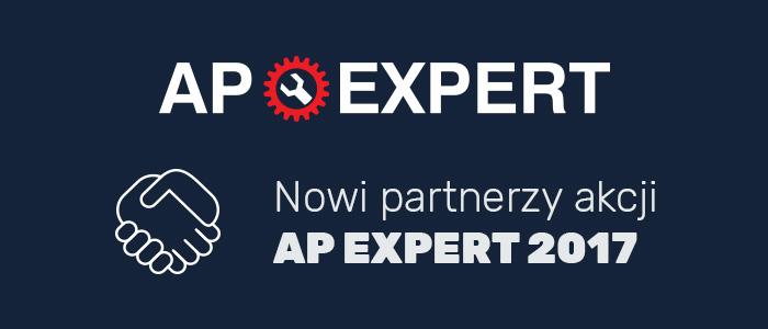 AP EXPERT 2017 PRZYCIĄGA CORAZ WIĘCEJ SPONSORÓW
