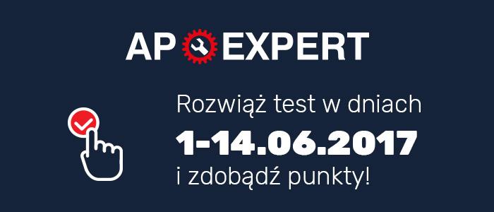 AP EXPERT 2017 – TRZECI TEST WIEDZY ON-LINE JUŻ W CZWARTEK!