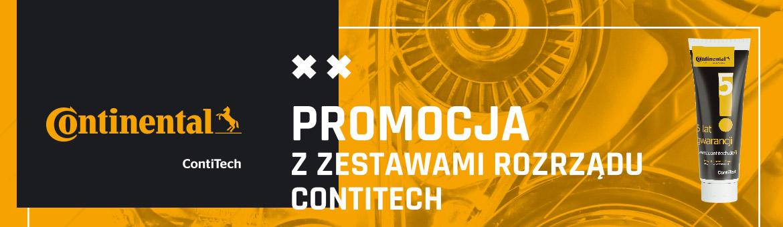 Promocja z zestawami rozrządu ContiTech
