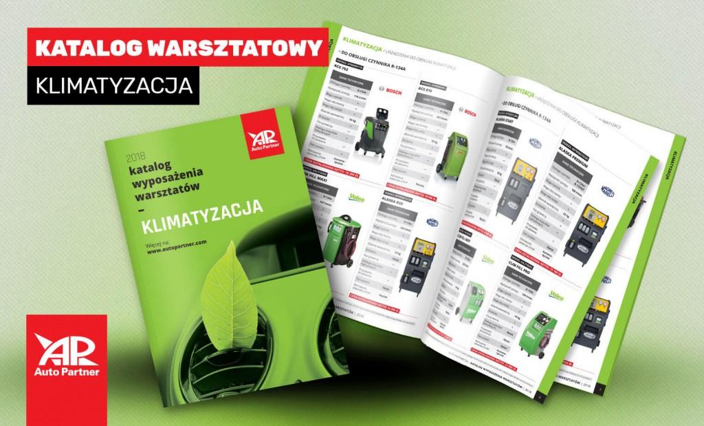 katalog układu klimatyzacji dla warsztatów współpracujących z Auto Partner SA