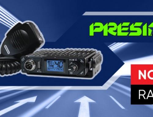NOWOŚĆ W OFERCIE AUTO PARTNER – RADIA CB MARKI PRESIDENT